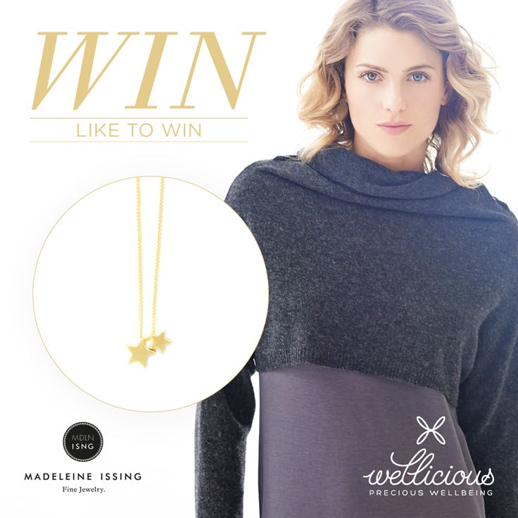 WIN! To mark the beginning of Advent, we have wonderful gifts to win this Christmas season! Wellicious have teamed up with the amazing jewellery company Madeleine-Issing to offer you their beautiful gold star necklace plus our cosy Wellicious cashmere wool jumper.   To enter go here: https://goo.gl/YAV5oC - like and comment to win! #BeWellicious   Happy Christmas from everyone at Wellicious, the winner will be selected in 1 week and this promotion is not endorsed by Facebook.