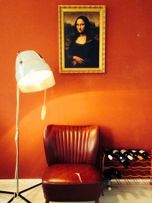 Baby Blew Blow Dryer Lamp by Briight Vintage