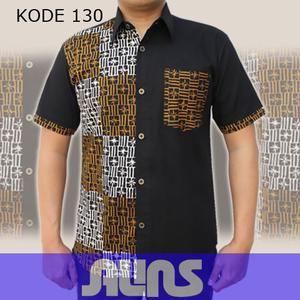 Model Batik Lengan Pendek Kode 130 ini merupakan batik cap yang terbuat dari bahan katun. Dibuat dengan jahitan yang rapih dan nyaman saat dipakai.
