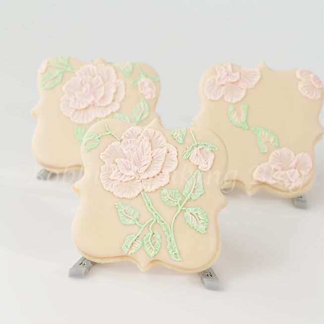 Best images about brush embroidery with royal icing on