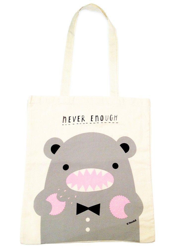 Never Enough Eco Tote Bag