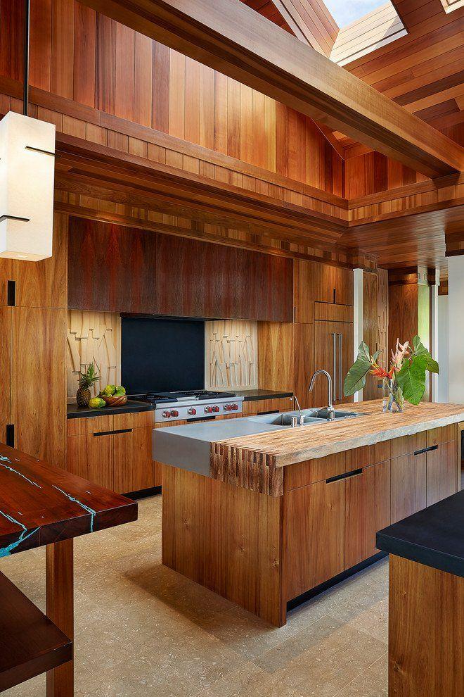 Captivating Tropical Kitchen Designs