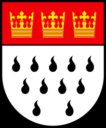 The city arms of Cologne