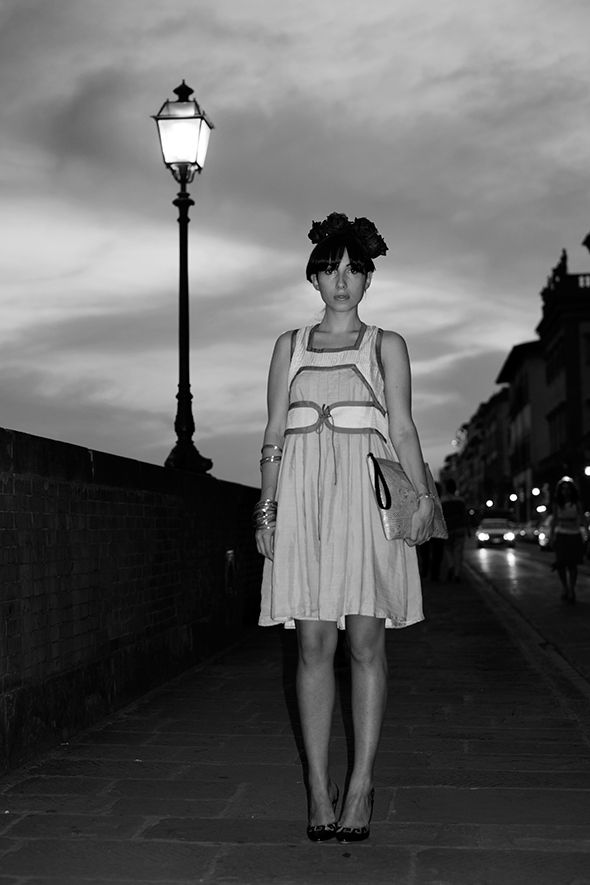 : Thesartorialist, Midnight In Paris, Street Style, The Sartorialist, The Dresses, Hair, Beautiful Summer Dresses, Night Style, Paris Style