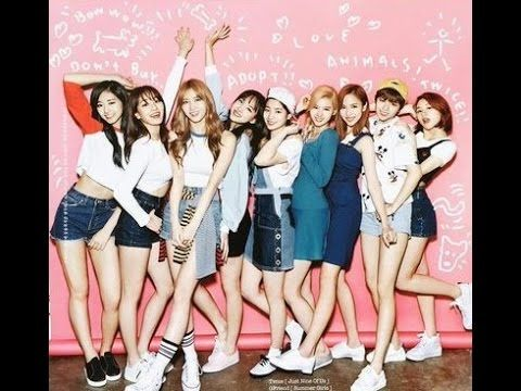 Twice Poses at Oh boy with Full Color Outfits