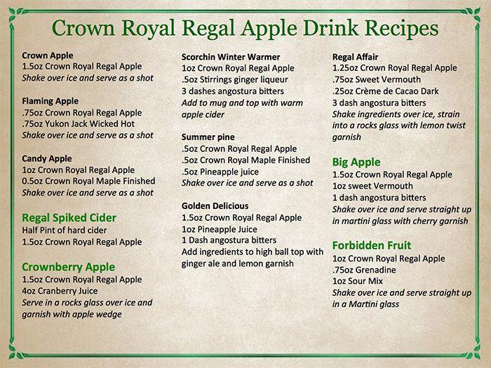 Wirtz Beverage Illinois Introducing The New Crown Royal Regal Apple - Wirtz Beverage Group