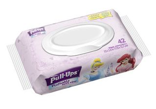 Huggies Pull-Ups Flushable Moist Wipes, Only $0.64 at Walmart!
