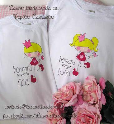 Las cositas de Pepita: Camisetas Pintadas a Mano que son una Monada