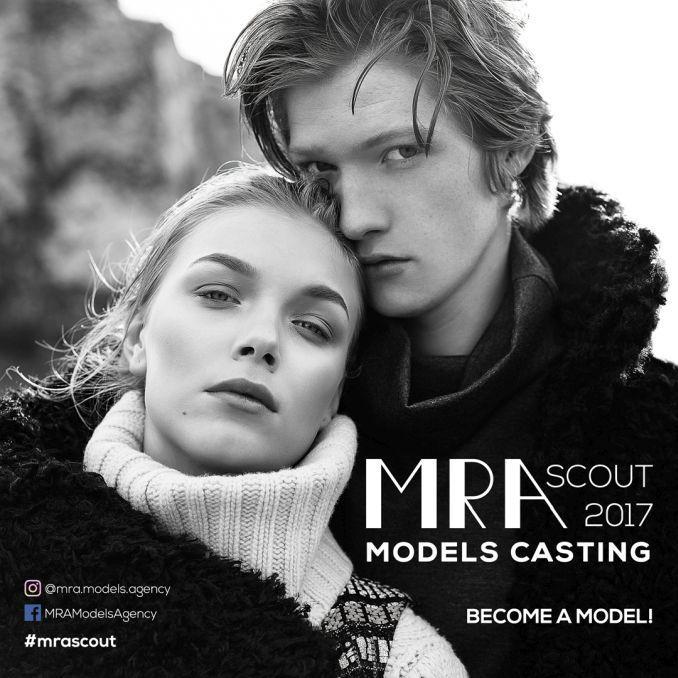 Agenția MRA Models începe caravana de preselecții pentru fete și băieți care au potențial de modele internaționale. MRA este prima agenție de modele fondată în România în anul 1992; a descoperit, l…
