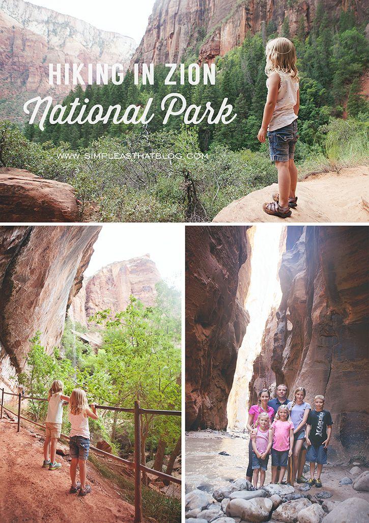 Family hiking. #zionnationalpark #simplethingssunday