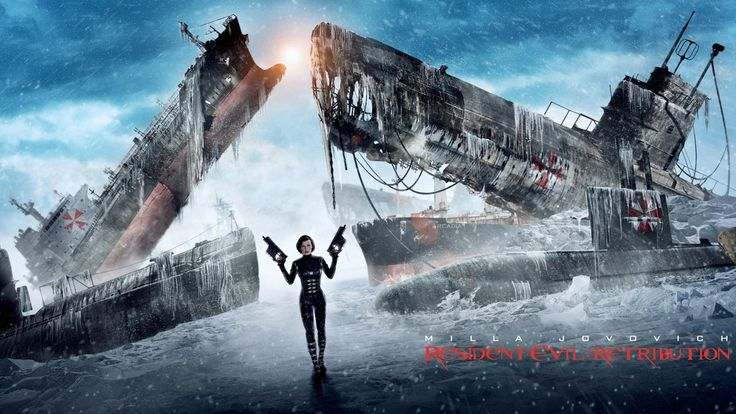 Películas Resident Evil 5: La venganza  Milla Jovovich Resident Evil Alice (Resident Evil) Submarino Fondo de Pantalla