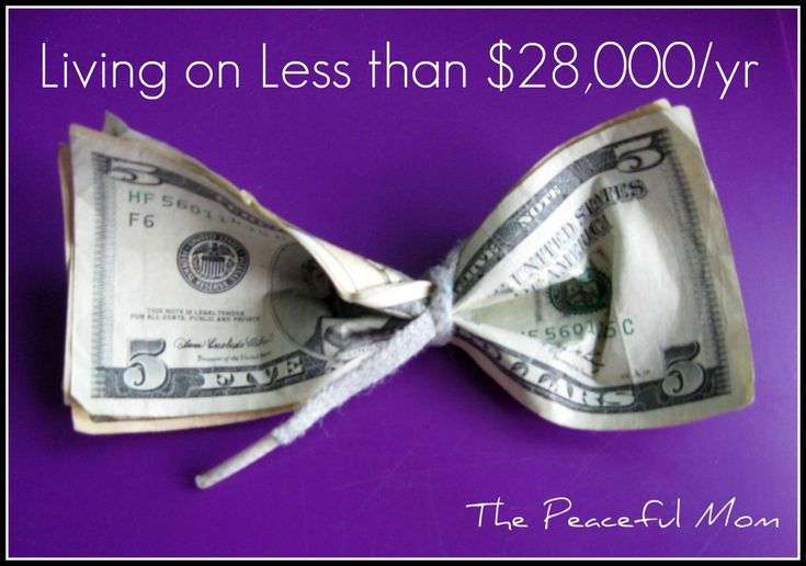 Great site with lots of tips for living frugally--no matter how much money you make. Pin now & read later.