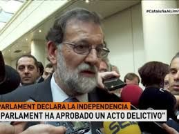 Resultado de imagen de rajoy ceses cataluña