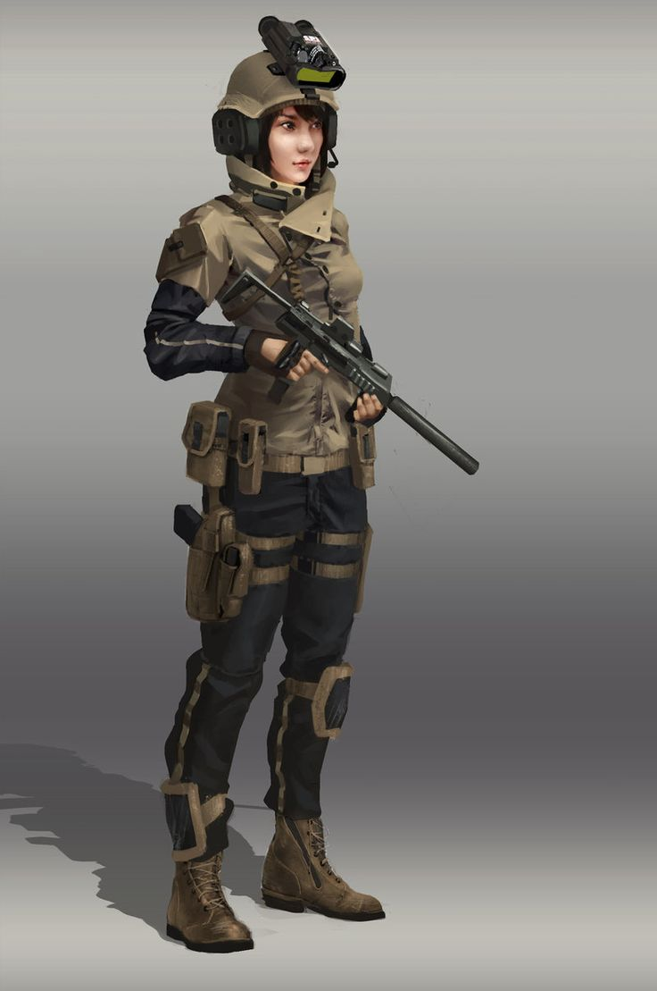 1126 best images about militar anime girl on Pinterest ...