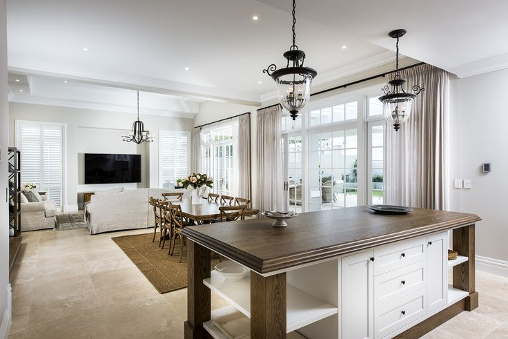 Hamptons style kitchen - Oswald Homes