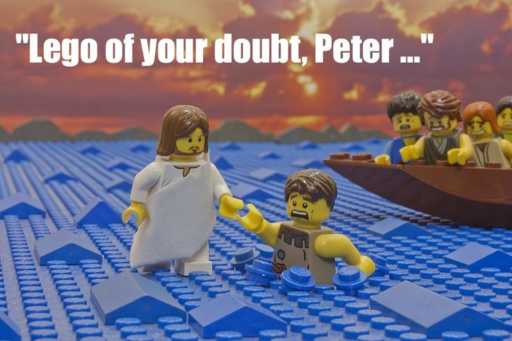 14 hilarious cartoons about Jesus walking on water