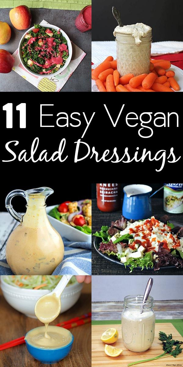 Turn even the most everyday salad into something special with these amazing vegan salad dressing recipes!