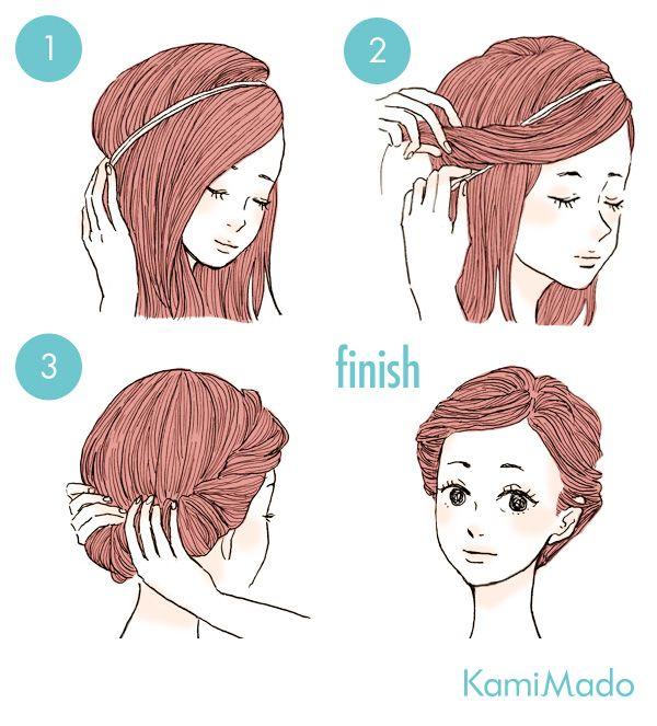 Tutorial de penteado clássico no maior estilo princesa da Disney.