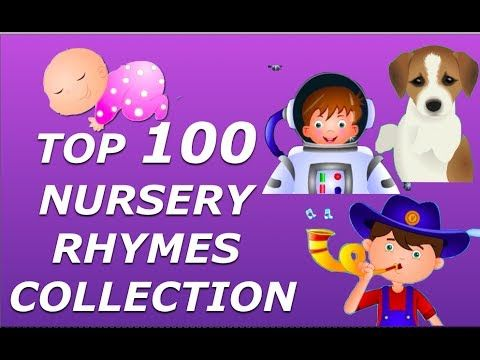 Top 100 Nursery Rhymes Collection For Children - Biggest Rhymes Collection - YouTube  -Repinned by Totetude.com