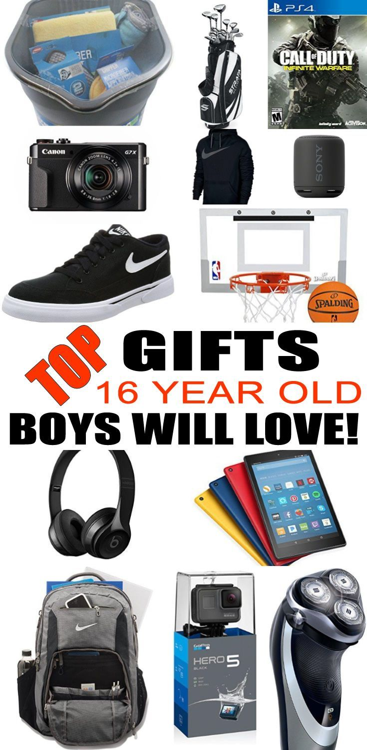 Best Gifts for 16 Year Old Boys | TEENS |GIFT IDEAS | Pinterest ...