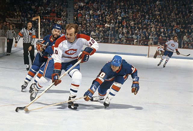 Guy Lafleur. Canadiens/Islanders, 1978.
