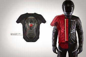 Новая Штука: Подушка безопасности Tech-air для мотоциклистов http://things.lifehacker.ru/2014/11/27/podushka-bezopasnosti-tech-air-dlya-motociklistov/