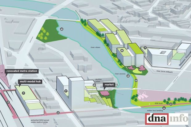 Grand Plans For North Branch River Development Seen In New Renderings - Lincoln Park - DNAinfo Chicago