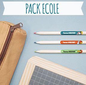 #Ludilabel Étiquettes thermocollantes et autocollantes pour marquer les vêtements à l'école et identifier les fournitures scolaires, stylo, livres, trousse…
