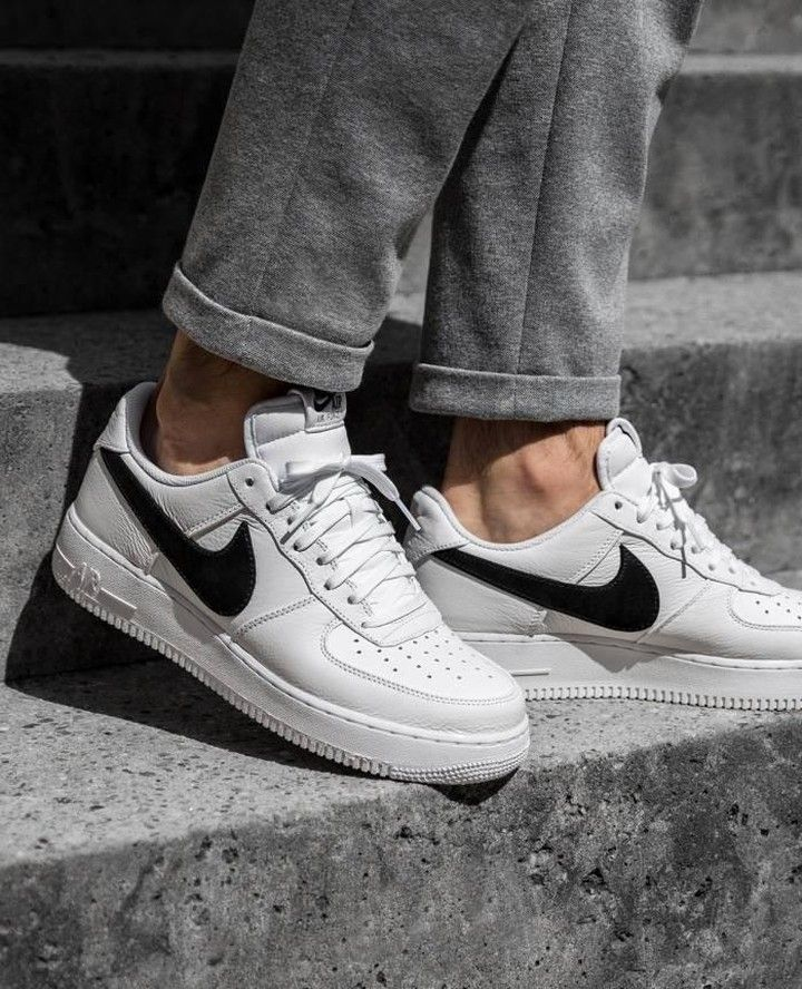 Nike Air Force 1 with the BIG SWOOSH ⁠ ⠀⠀⠀⠀⠀⠀⠀⠀⠀⁠ starting