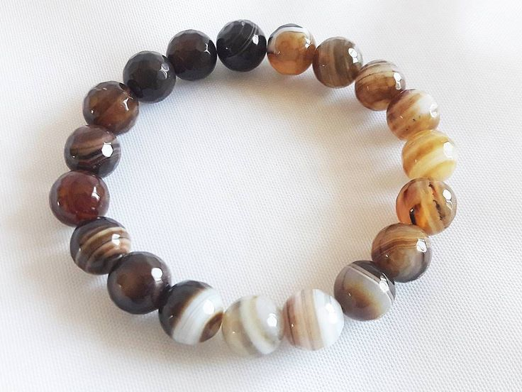 Elegant Bracelet for Woman, Beaded Bracelet in Shades of Brown, Gift for Her, Gift for Woman, Unique Bracelet for Gift, Gift for Friend by modotikon on Etsy