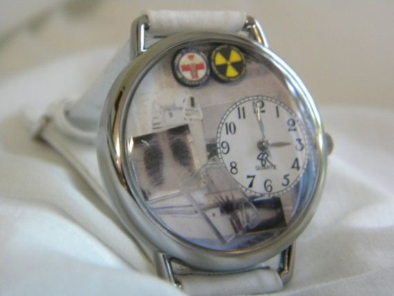 X-Ray Technician Watch by SunnyRiverCreations on Etsy