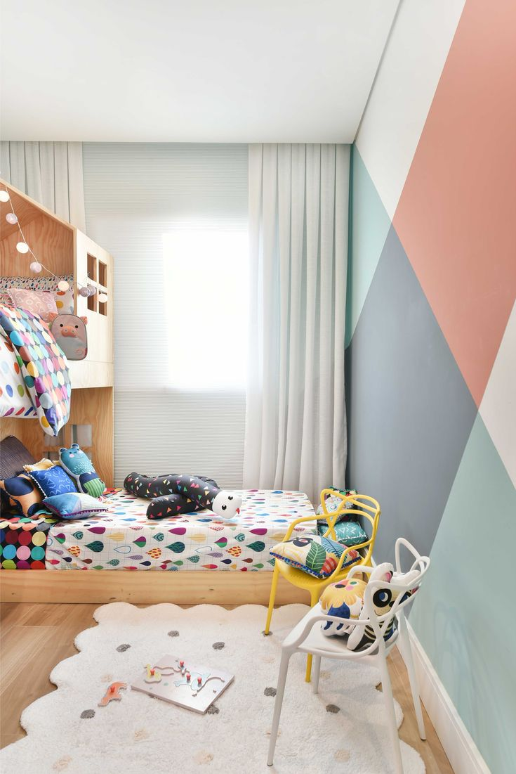 Geometric patterns and bunk bed | #vikingtoys