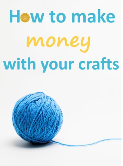 20 best images about how to make money with your crafts on for Crafts that make the most money