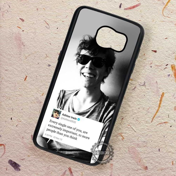 Single One Quote Ashton Irwin 5sos - Samsung Galaxy S7 S6 S5 Note 7 Cases & Covers
