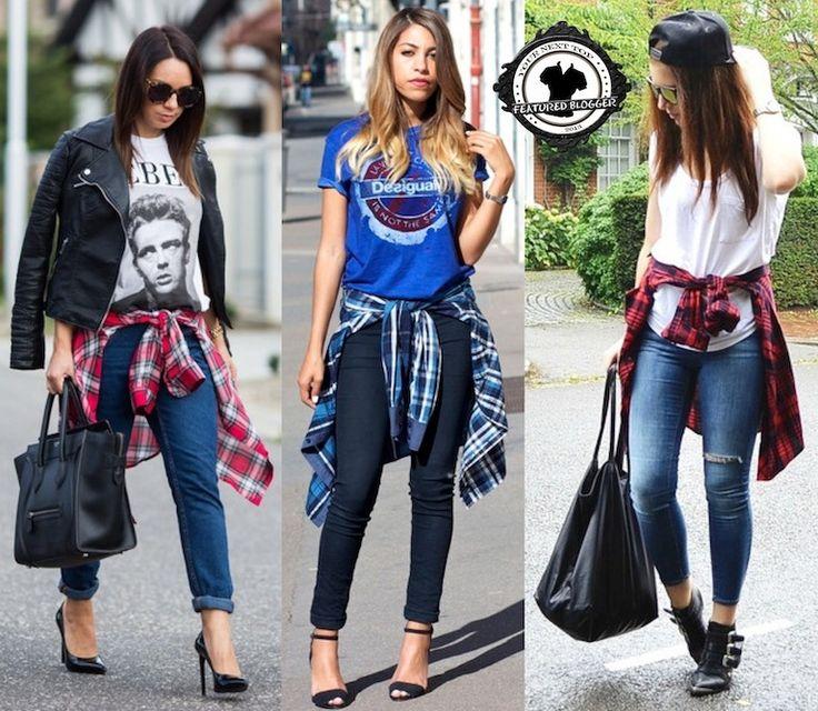 25+ best ideas about Shirt around waist on Pinterest | Tied shirt ...