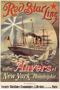 The aura of such a ocean odessey, and awesome welcome to such an incredible destination is well communicated in this travel poster!