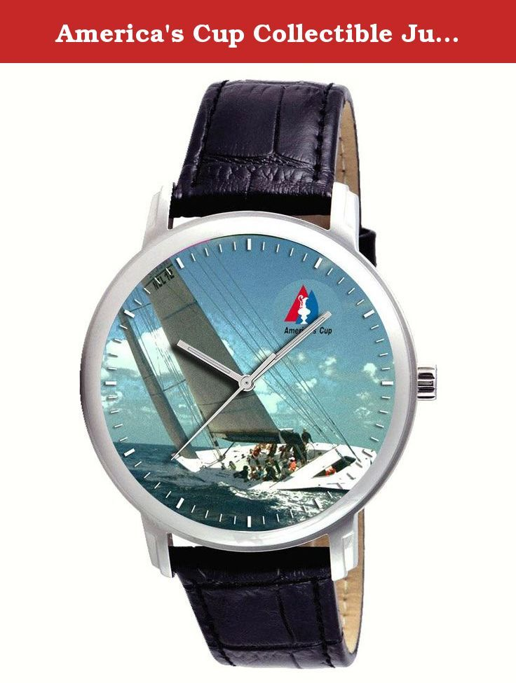 America's Cup Collectible Jumbo 44 mm Sailing Sailboat Racing Art Gents Wrist Watch. America's Cup Collectible Jumbo 44 mm Sailing Sailboat Racing Art Gents Wrist Watch.