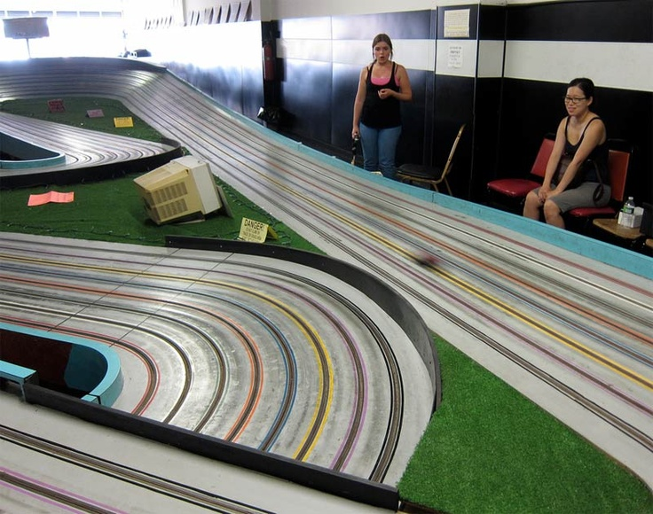 Slot car racing tracks near me
