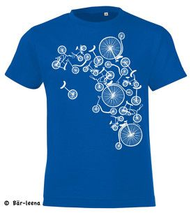 Fahrrad T-Shirt Kinder Bär-leena Fahrradturm