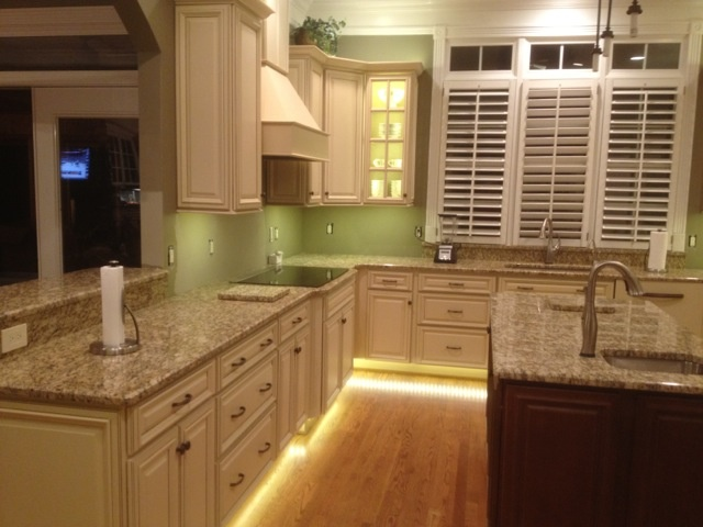 Under The Cabinet, Inside The Cabinet, Cove, And Toe Kick LED Lighting By  Inspired LED