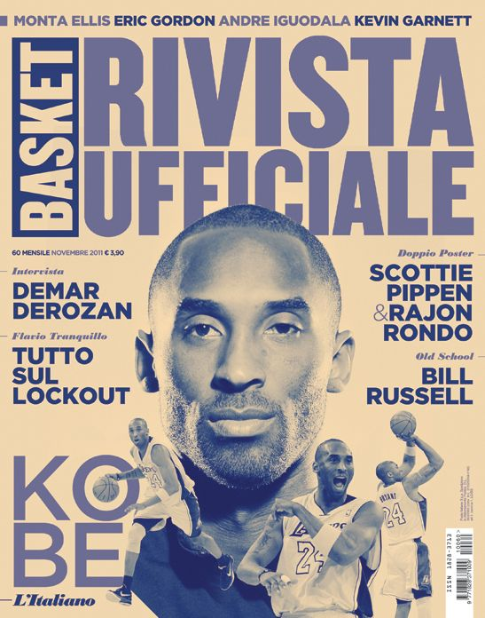 Rivista Ufficiale NBA - Covers by Francesco Poroli, via BehanceKobe Covers, Nba Italy, Uffici Nba, Kobe Bryant, Basketball Graphic Design, Graphics Design, Magazines Covers, Ufficial Nba, Rivista Ufficial