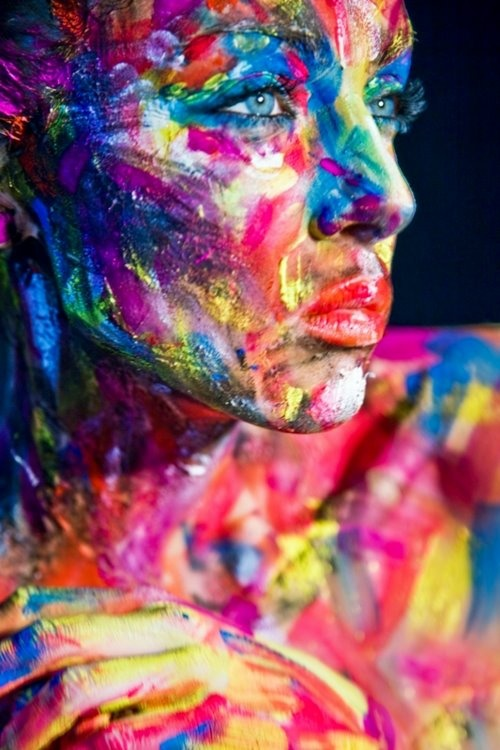 """we are all different colors, living in the same box of crayons."""