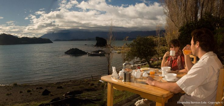 Photo: Hospitality Services Ltda - Copyright © Imagine yourself having breakfast with such a view? On Isla Macías, it could become reality...