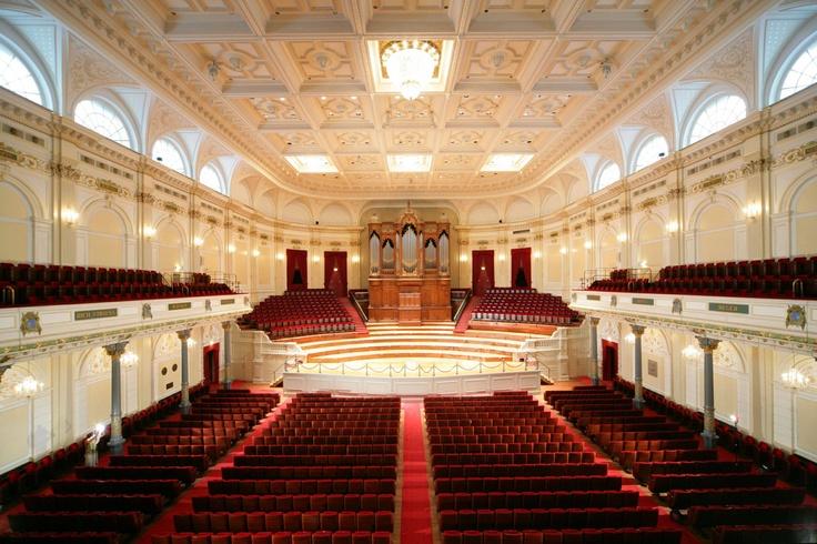 "Concertgebouw (Dutch for ""Concert Building""), Adolf Leonard van Gendt, Amsterdam, Netherlands"
