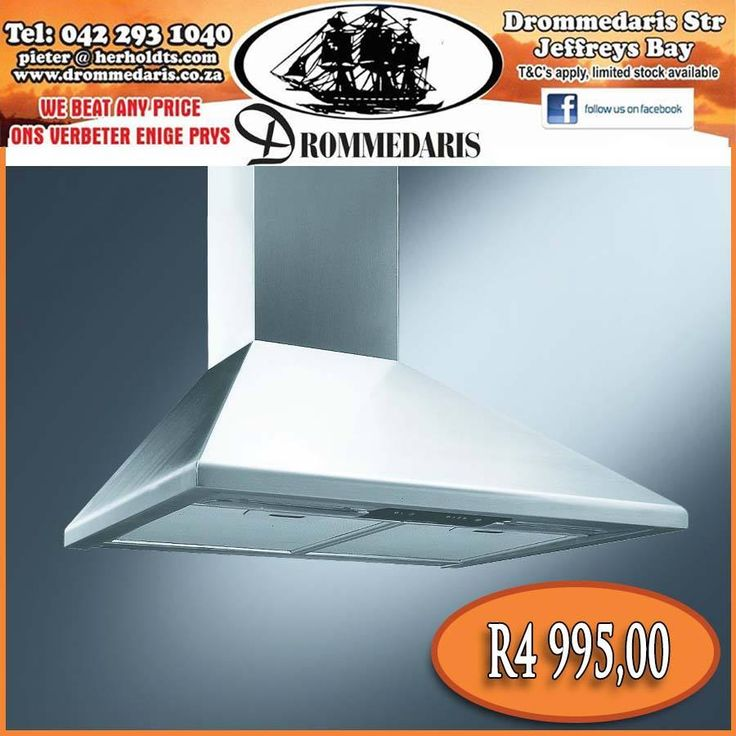 Drommedaris stock a wide range of extractor hoods. This is the Smeg 60cm Chimney hood, it is 3 different speeds, 1 high performance motor, 2 lamps and more. Click on the link to view the rest of the collection, http://apost.link/10R. #lifestyle #homeimprovement #appliances