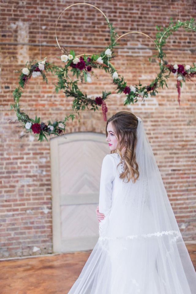 simple do it yourself wedding ideas%0A Burgundy Boho Industrial Wedding Ideas  Plus A Floral DIY