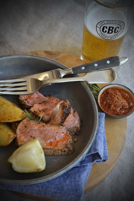 Chalmar Beef Rump & Wedges Recipe paired with your favourite CBC craft beer. Find the recipe here > http://capebrewing.co.za/chalmar-beef-rump-wedges/