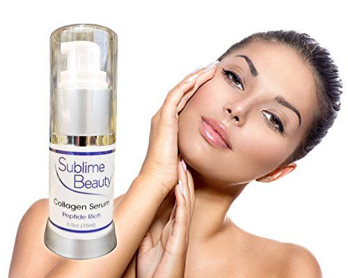 Collagen Serum | Peptide Rich by Sublime Beauty®. Matrixyl is the star peptide, which can double collagen production! GORGEOUS SKIN IS YOURS! http://www.amazon.com/dp/B00CCUHA3G/ref=cm_sw_r_pi_dp_KIWHub0QNKQ97
