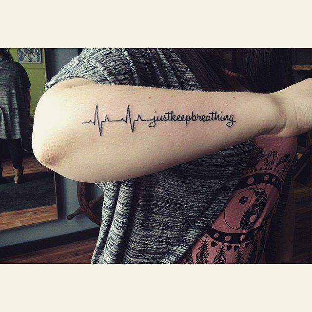 Heartbeat Tattoo Ideas | POPSUGAR Celebrity