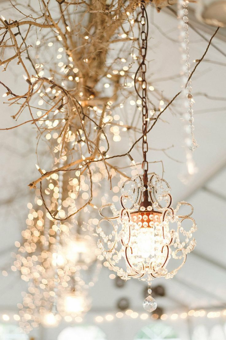 Reception Lighting Ideas - Chandaliers